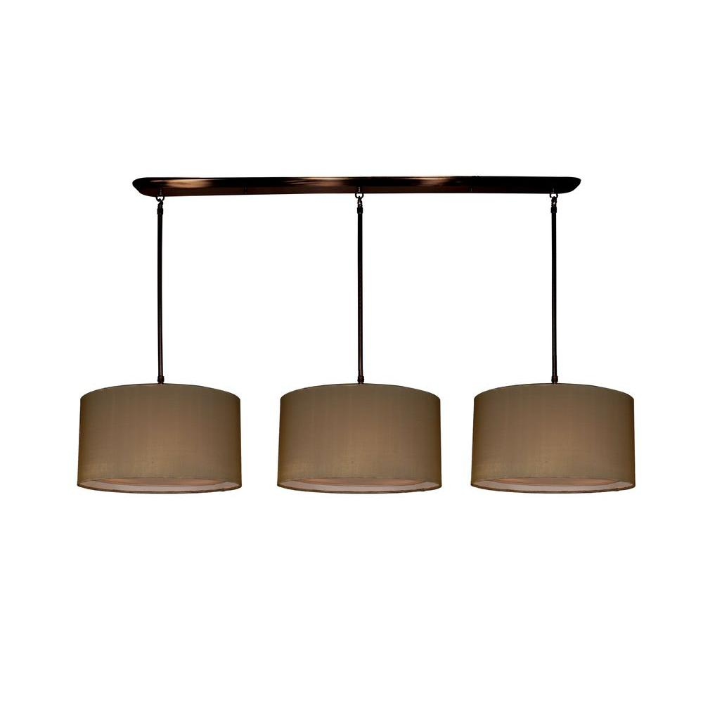 Tulen Lawrence 9 Light Ceiling Olde Bronze Incandescent Island Pendant-DISCONTINUED