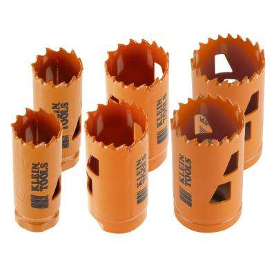 Bi-Metal Hole Saw Set (6-Piece)