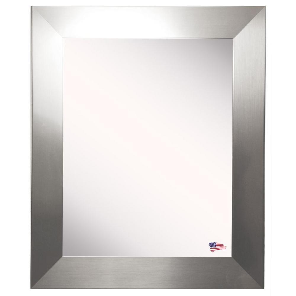 35 In W X 55 H Framed Rectangular, Wall Mirror 40 X 60