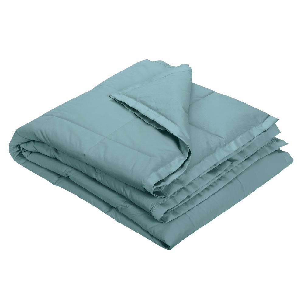 LaCrosse Down Sea Mist Cotton King Blanket