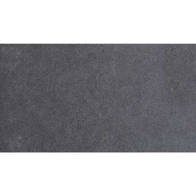 Beton Graphite 12 in. x 24 in. Glazed Porcelain Floor and Wall Tile (16 sq. ft. / case)