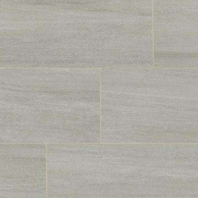 Nova Falls Gray 12 in. x 24 in. Porcelain Floor and Wall Tile (374.4 sq. ft. / pallet)