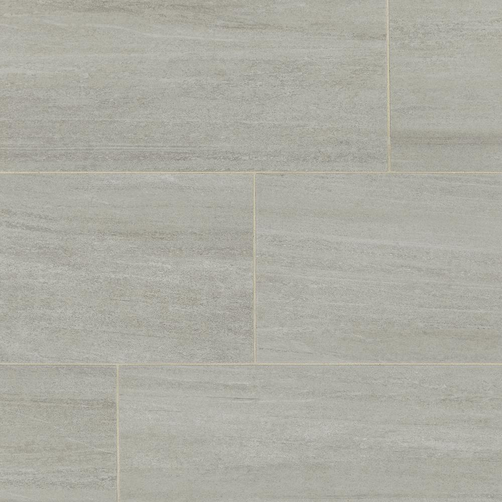 Daltile Nova Falls Taupe 12 In X 24 Porcelain Floor And Wall Tile