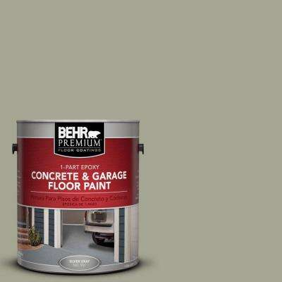 1 gal. #PFC-38 Elemental Green 1-Part Epoxy Concrete and Garage Floor Paint