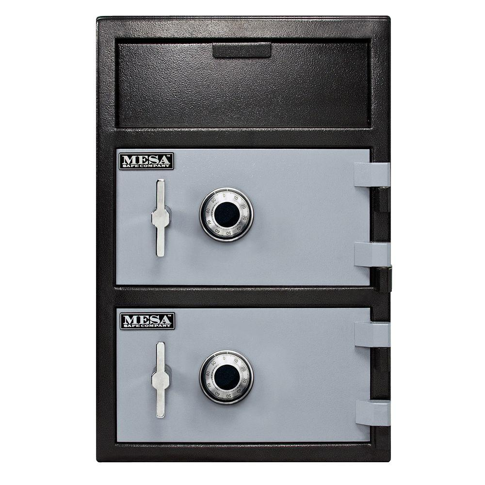 MESA 3.6 cu. ft. Two Combination Locks Depository Safe
