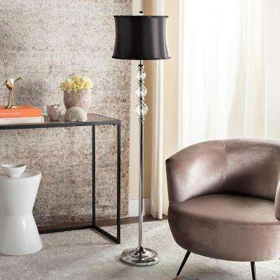 Venezia 60.25 in. Clear Floor Lamp