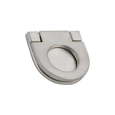 25 mm brushed nickel recessed pull
