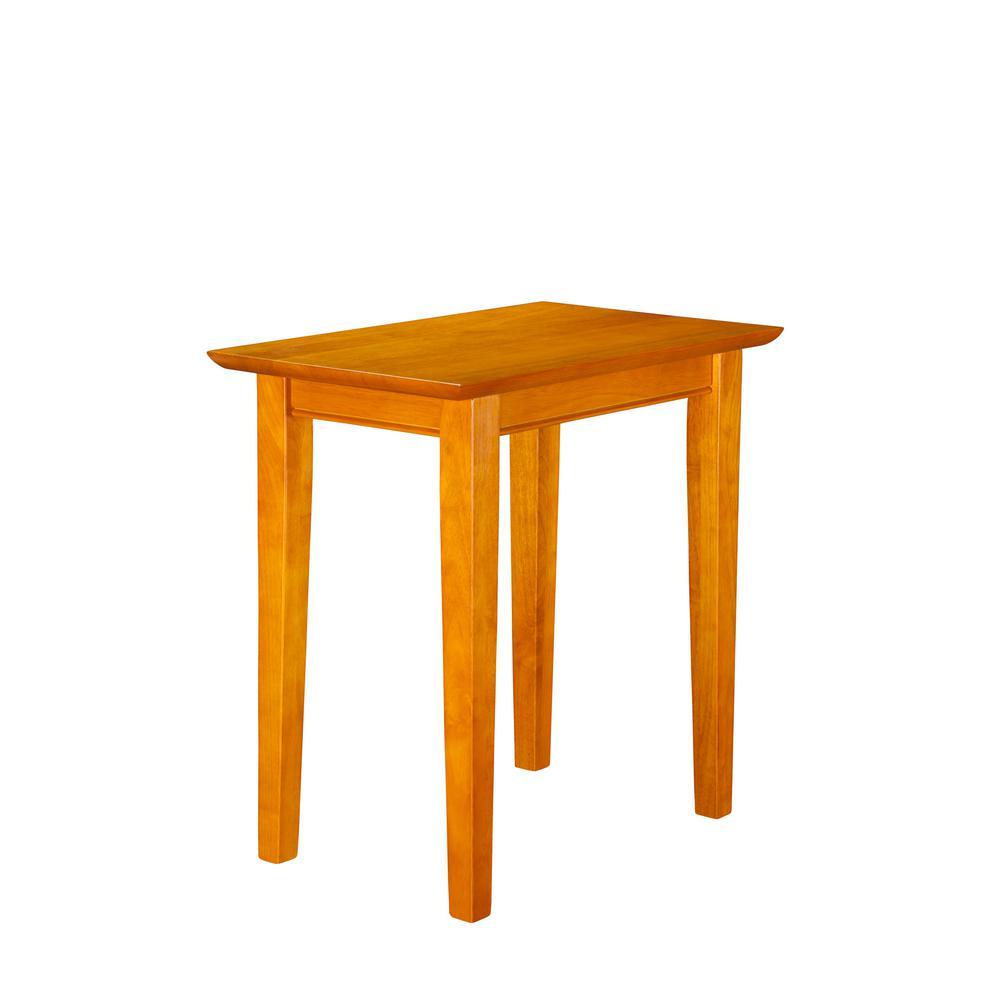 Shaker Caramel Chair Side Table