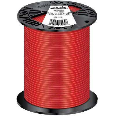 500 ft. 6/1 Stranded XHHW-2 Wire, Red