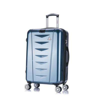 AirWorld lightweight hardside spinner 24 in. Navy Blue