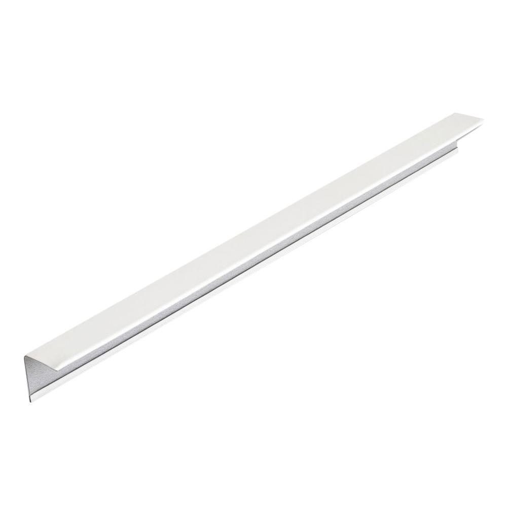 DONN Brand 12 ft. x 7/8 in. x 7/8 in. Suspended Ceiling Wall Molding ...