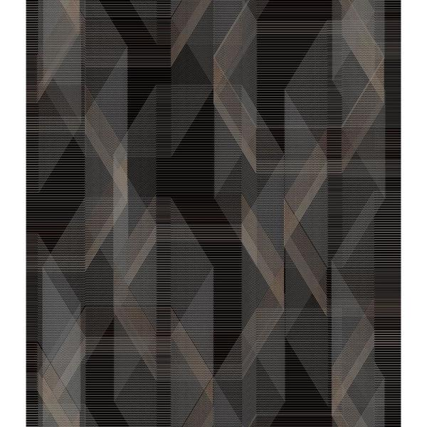 RoomMates 28.29 sq. ft. Debonair Geometric Peel and Stick Wallpaper