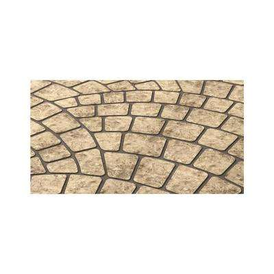 29 in. x 415 ft. Fish Scale Decorative Concrete Paper Stencil