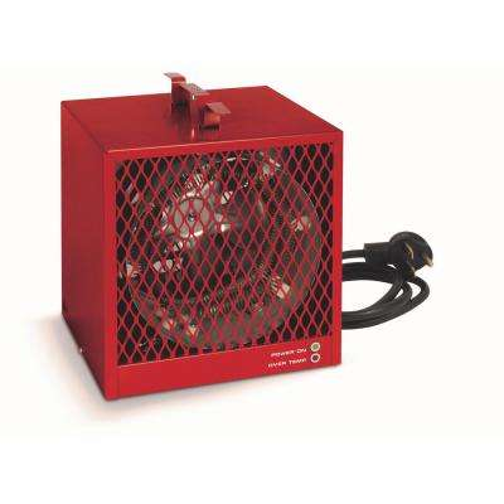 4800-Watt 240-Volt Multi-Purpose Portable Heater in Red