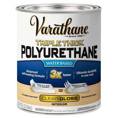 1 qt. Gloss Triple Thick Polyurethane