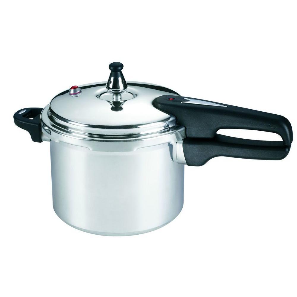 4 Qt. Aluminum Stovetop Pressure Cookers