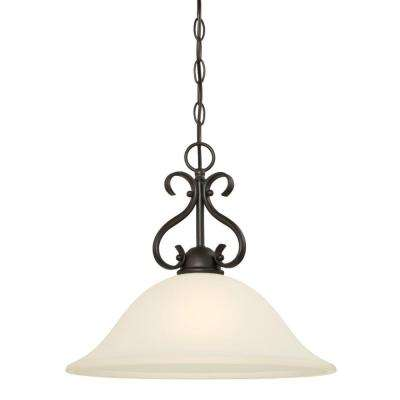 Dunmore 1-Light Oil-Rubbed Bronze Pendant