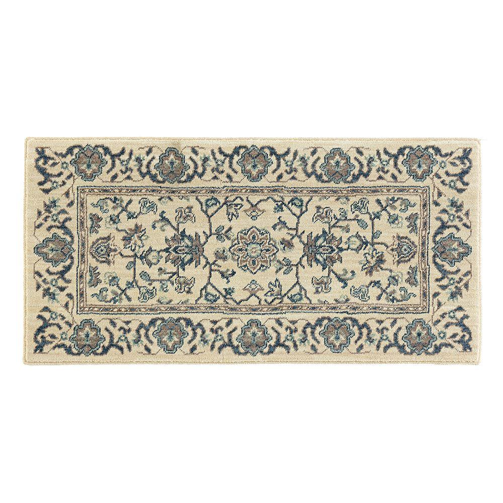 Home decorators collection jackson blue ivory 2 ft x 4 ft for Home decorators rugs blue