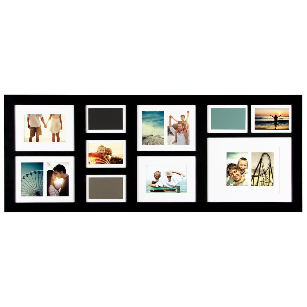 Pinnacle 10-Opening 4 in. x 6 in. and 5 in. x 7 in. Matted Picture ...