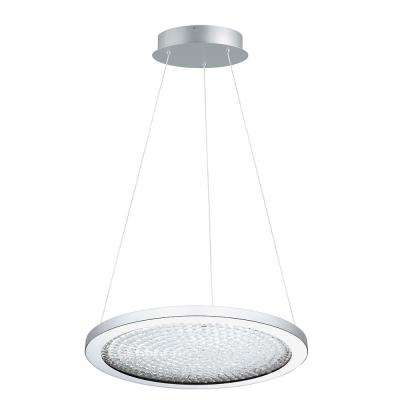 Arezzo 3 1x27-Watt 18 in. 1-Light LED Pendant with Chrome