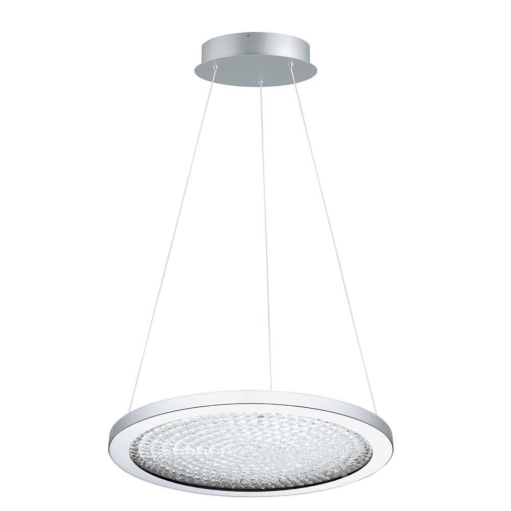 1-Light Arezzo 3 1x27-Watt 18 in. LED Pendant with Chrome