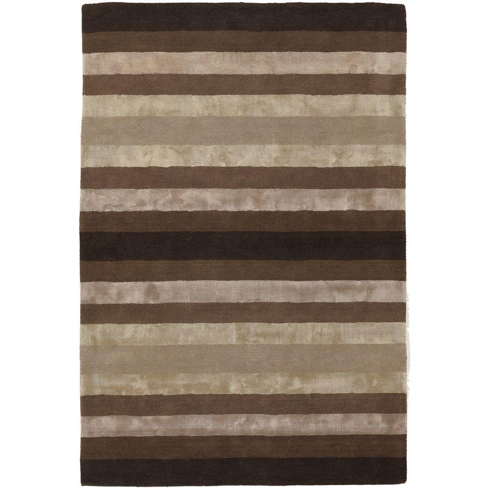 Chandra Gardenia Taupe/Brown 7 ft. 9 in. x 10 ft. 6 in. Indoor Area Rug