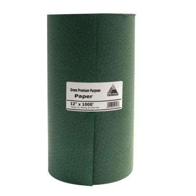 Easy Mask 12 IN. X 1000 FT. Green Premium Masking Paper
