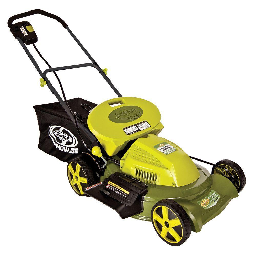 Sun Joe Mow Joe 20 in. 3-in-1 Cordless Lawn Mower