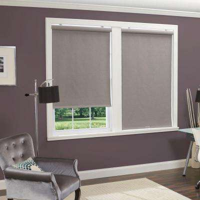 Linen-Look Thermal Blackout Fabric Cordless Roller Shade