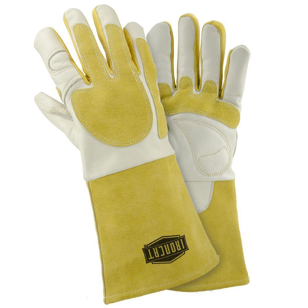 Ironcat Grain Cowhide Leather Welder Gloves