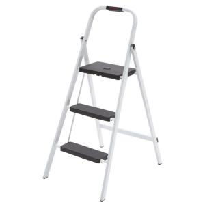 sc 1 st  The Home Depot & 3-Step Steel Skinny Mini Step Stool Ladder-HSP-3GS - The Home Depot islam-shia.org