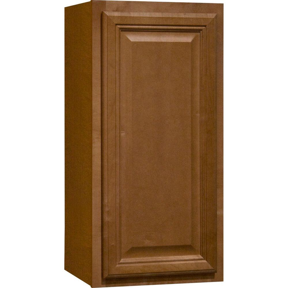 economical kitchen cabinets hampton bay cambria assembled 15x30x12 in wall kitchen 3524