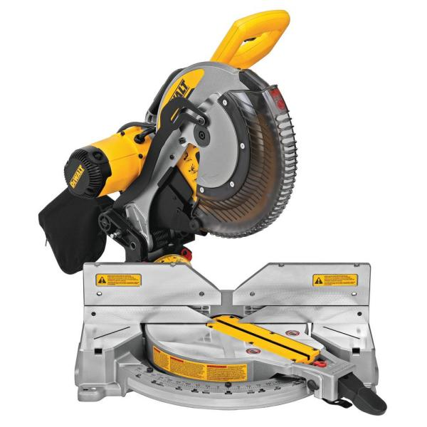 15 Amp Corded 12 in. Double-Bevel Compound Miter Saw with Cutline LED