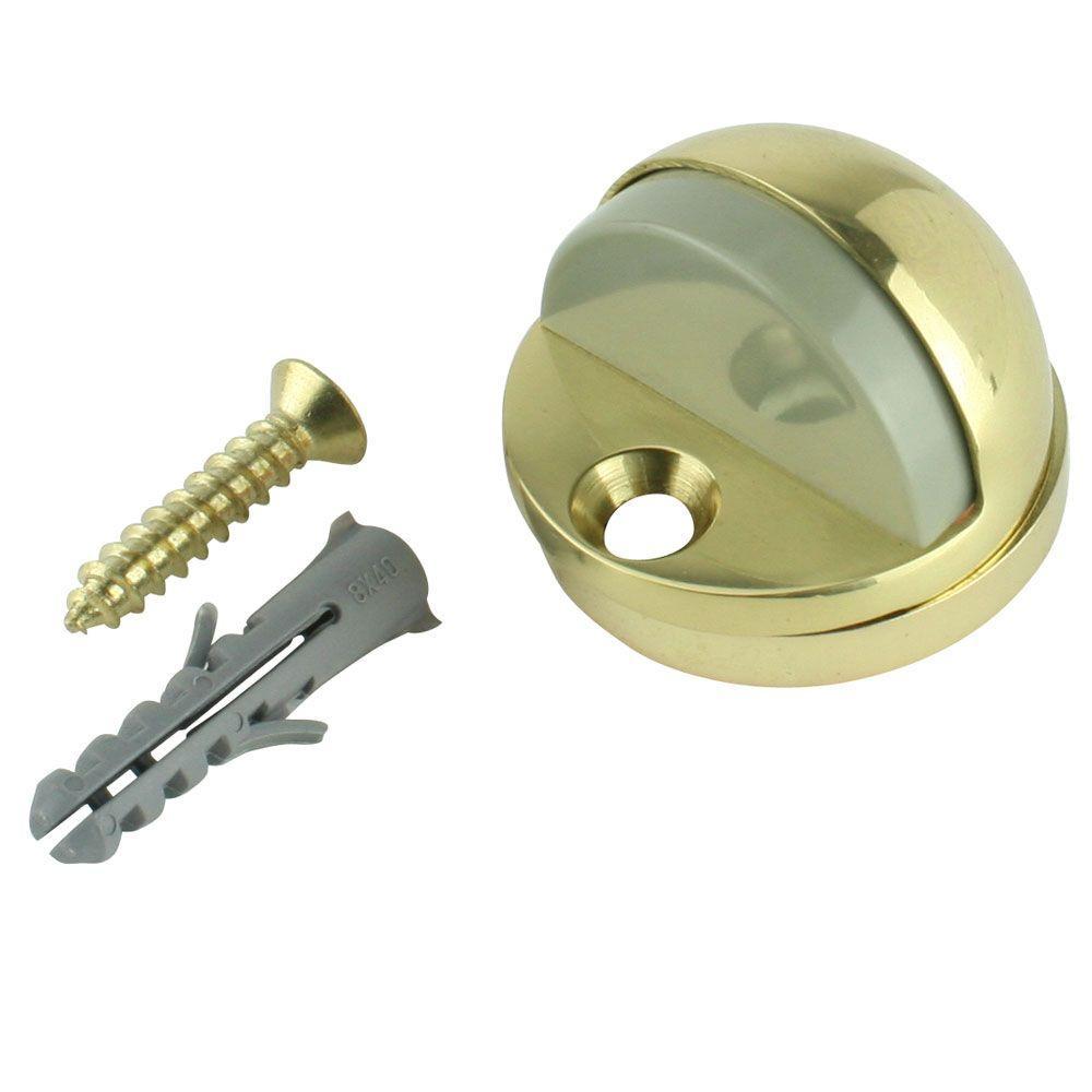 Everbilt Solid Brass Adjustable Floor Door Stop 13561