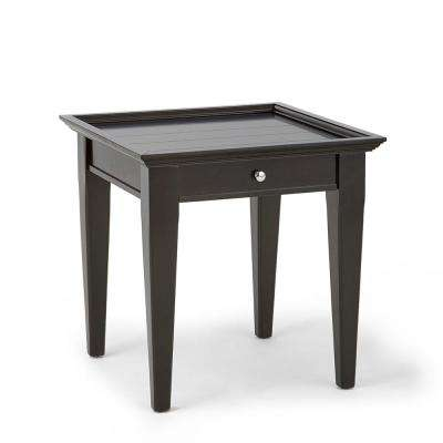 Bridget Ebony End Table