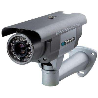 Wired 700 TVL Indoor/Outdoor 960H 5 to 50 mm 180 ft. IR Range Vary-Focal Surveillance Camera