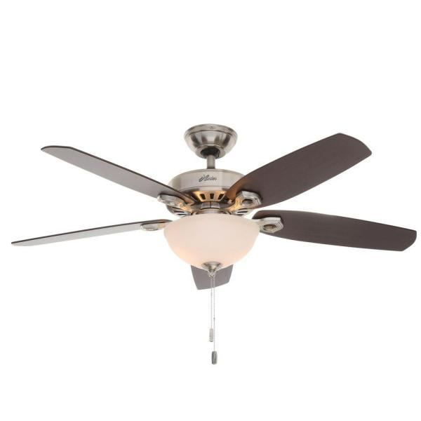 Hunter Builder Deluxe 52 In  Indoor New Bronze Ceiling Fan