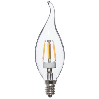Varaluz 25W Equivalent Warm White Flame Tip Dimmable LED Light Bulbs (8-Pack)