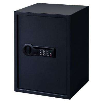 1.9 cu. ft. Steel Personal Safe with Electronic Lock, Black