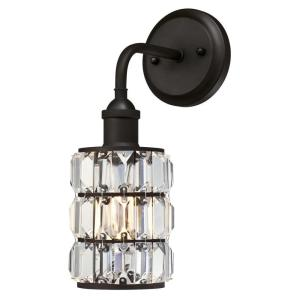 sophie 1light oil rubbed bronze wall mount sconce
