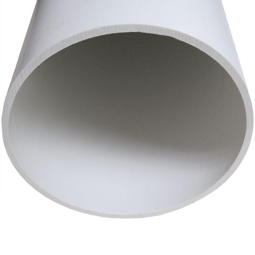 6 in. x 24 in. PVC SDR-35 Riser Pipe