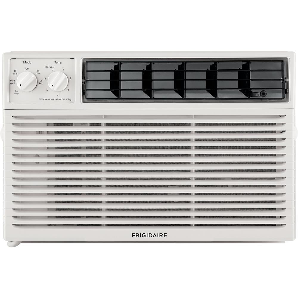 Frigidaire 6,000 BTU Window-Mounted Room Air Conditioner in White
