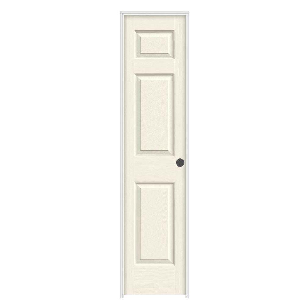 Jeld wen 18 in x 80 in colonist vanilla painted left for 18 x 80 prehung interior door