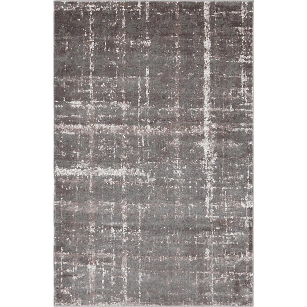 Uptown Collection by Jill Zarin™ Lexington Avenue Gray 4' 0 x 6' 0 Area Rug