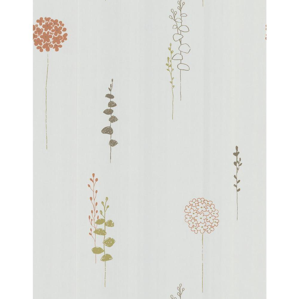 Brewster Lily Of The Nile Wallpaper