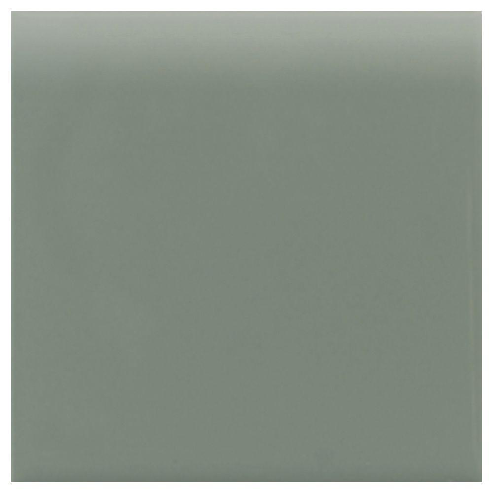 Daltile semi gloss cypress 4 14 in x 4 14 in ceramic bullnose daltile semi gloss cypress 4 14 in x 4 14 in ceramic bullnose wall tile 1452s44491p1 the home depot dailygadgetfo Image collections