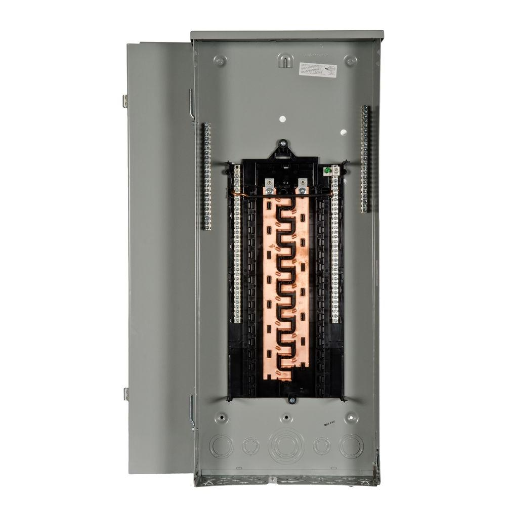 Siemens Pl Series 125 Amp 30 Space 40 Circuit Main Lug Outdoor Load Center Pw3040l1125cu The Home Depot