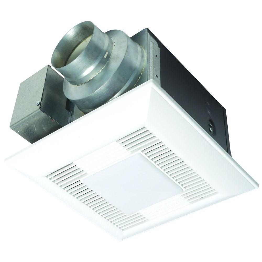 Panasonic WhisperLite 80 CFM Ceiling Exhaust Bath Fan with Light ENERGY STAR*-DISCONTINUED