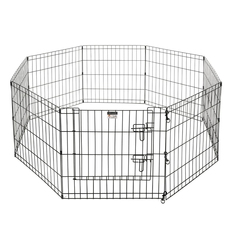 Pet Trex Eight 24 in. W x 24 in. H Panels 16 sq. ft. Playpen for Dogs