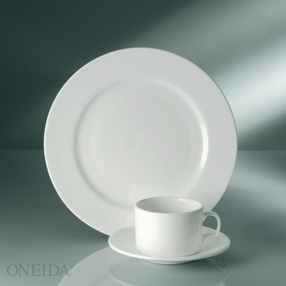 Oneida 14 5 Oz Gemini Bone China Mugs Set Of 24 F1130000563 The Home Depot